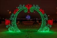 Световые арки - фото Design Pro