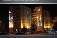 Праздничное оформление фасадов в Астане - фото Design Pro