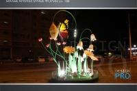 Светодиодные МАФ в городе - фото Design Pro