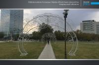 Украшение города Атырау компанией Design Pro фото 11