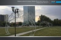 Украшение города Атырау компанией Design Pro фото 12