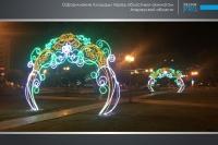 Украшение города Атырау компанией Design Pro фото 14