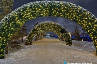 Пример украшения города на Новый год - Design-pro.kz - фото 150