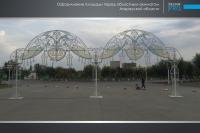 Украшение города Атырау компанией Design Pro фото 2