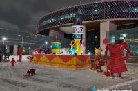 Пример украшения города на Новый год - Design-pro.kz - фото 125