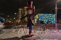 Пример украшения города на Новый год - Design-pro.kz - фото 121