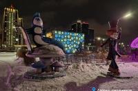 Пример украшения города на Новый год - Design-pro.kz - фото 120