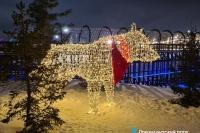 Пример украшения города на Новый год - Design-pro.kz - фото 141