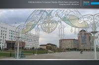 Украшение города Атырау компанией Design Pro фото 3