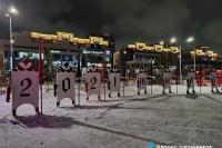 Пример украшения города на Новый год - Design-pro.kz - фото 119