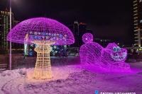 Пример украшения города на Новый год - Design-pro.kz - фото 118