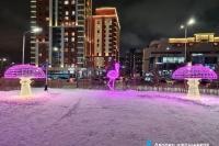 Пример украшения города на Новый год - Design-pro.kz - фото 116
