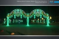 Украшение города Атырау компанией Design Pro фото 4