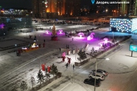 Пример украшения города на Новый год - Design-pro.kz - фото 115