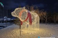 Пример украшения города на Новый год - Design-pro.kz - фото 147