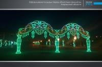 Украшение города Атырау компанией Design Pro фото 5