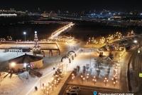 Пример украшения города на Новый год - Design-pro.kz - фото 135