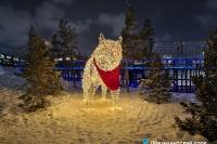Пример украшения города на Новый год - Design-pro.kz - фото 143