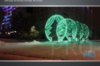 Пример украшения города на Новый год - Design-pro.kz - фото 2