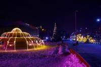 Пример украшения города на Новый год - Design-pro.kz - фото 87