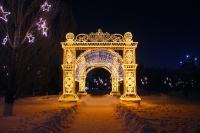 Пример украшения города на Новый год - Design-pro.kz - фото 93