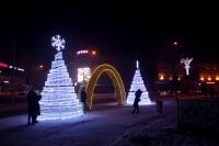 Пример украшения города на Новый год - Design-pro.kz - фото 36