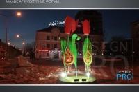 Пример украшения города к Наурызу- Design-pro.kz - фото 27