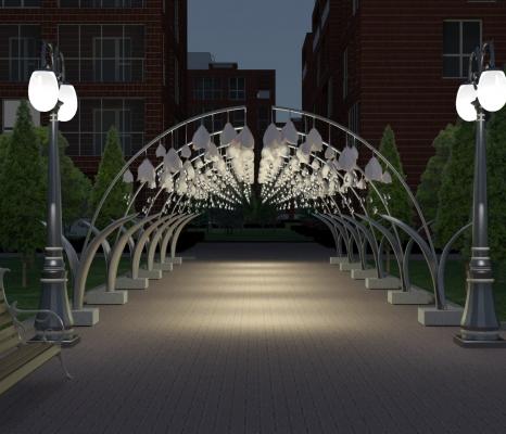 Малые архитектурные формы для парков и скверов - фото Design Pro