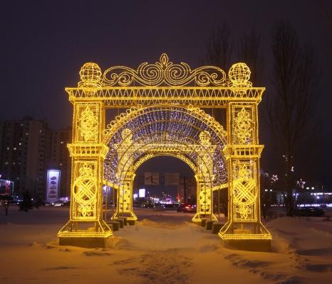 Входные световые арки - фото Design Pro